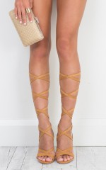 Billini - Preen in Tan Suede