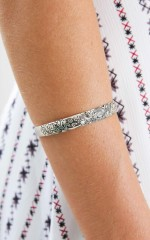 Stark bracelet in antique silver