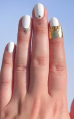 Rad Nails - Your Point? in Gold