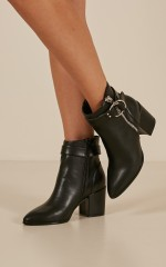 Therapy - Ashby boots in black