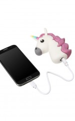 Unicorn Tears USB power bank in white