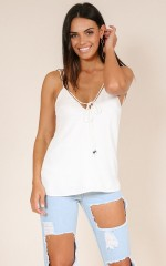 Unwritten Dream top in white
