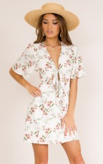 Love To Know You dress in white floral