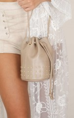 Virtual Reality Bag in Beige