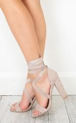Lipstik - Gael Heels in mink micro