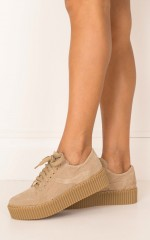 Windsor Smith - Oracle in cappucino suede