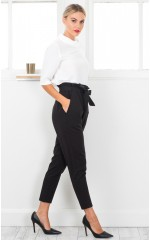Work Up pants in black