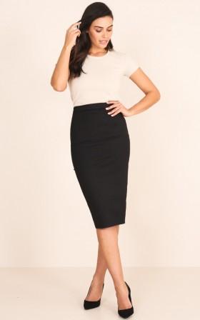 Director Skirt in Black