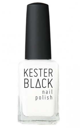 Kester Black - French White nail polish