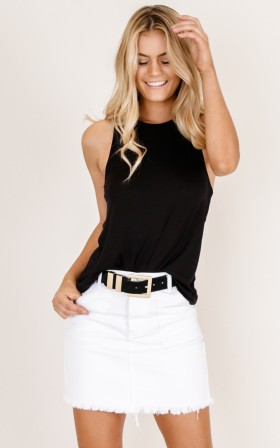 How To Make It Right Top in black