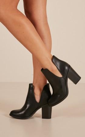 Lipstik - Joanie Boots in black
