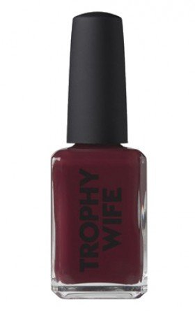 Kester Black - Narcissist nail polish in shiraz red