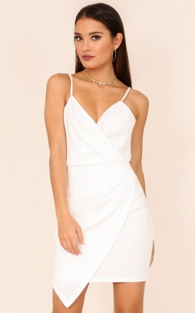 Picture To Burn dress in white