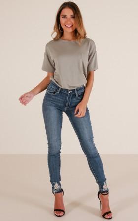 Diana skinny jeans in dark wash