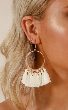 One Way Or Another earrings in gold