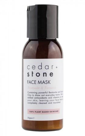 Cedar and Stone - Bentonite and Turmeric Mask