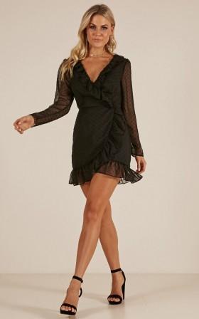 Candid Shot dress in black