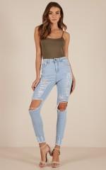 Samira jeans in light wash