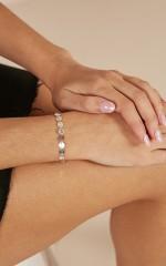 Hollywood Lights bracelet in silver