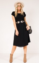 Louisiana Dress in black
