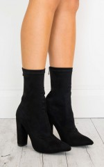 Billini - Octavia in black suede