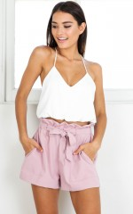 All Rounder shorts in mauve
