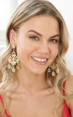 All the Stars earrings in gold