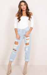 Amber Jeans in light wash