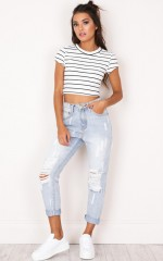 Annabel Jeans in light wash