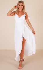Bare love dress in White