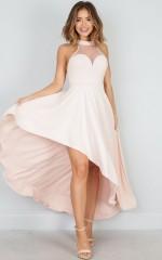 Beautiful Thing dress in blush