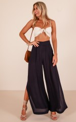 Bewitched pants in navy