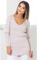 Change Locations knit top in beige
