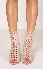 Billini - Bambi in blush suede