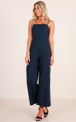 By Chance jumpsuit in navy