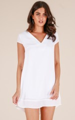 Cast A Spell dress in white