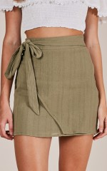 Casual Fridays Skirt in khaki