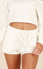 Cloud Nine Shorts in White
