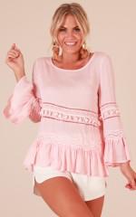 Daniella top in blush
