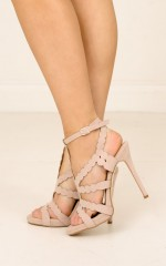 Billini - Daria in blush suede