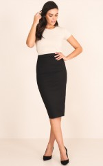 Director Skirt in Black