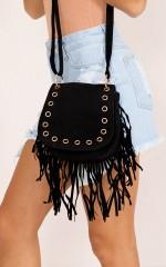 Get On The Road bag in black