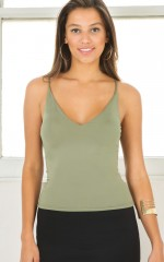 Get That Top in  khaki