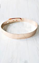 Gilded belt in gold