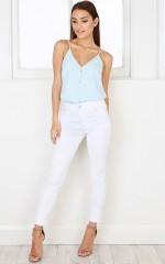 Gwen skinny jeans in white
