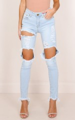 Hannah skinny jeans in lightwash