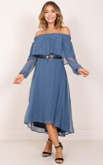 Heart And Soul Dress in Blue