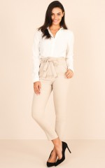 Influence Pants in  Beige