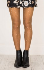 Bling Thing Stockings in nude