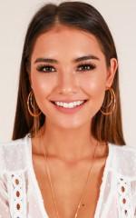 Lost Opportunity earrings in gold